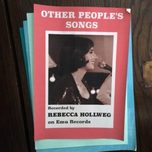 Rebecca Hollweg 'Other People's Songs' - cover